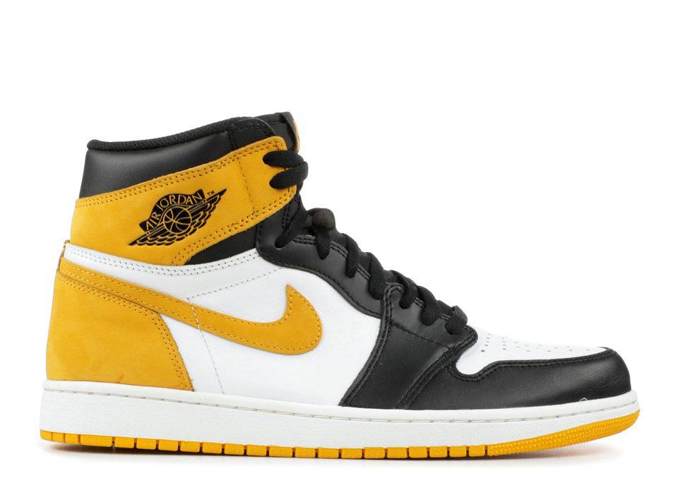 Air Jordan 1 Retro High Og Yellow Ochre