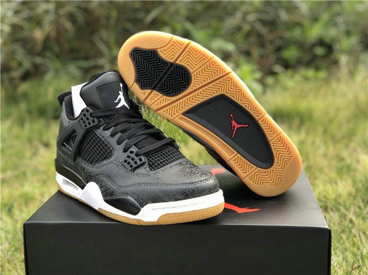 "Air Jordan 4 SE Laser ""Black Gum"" c11184 001"