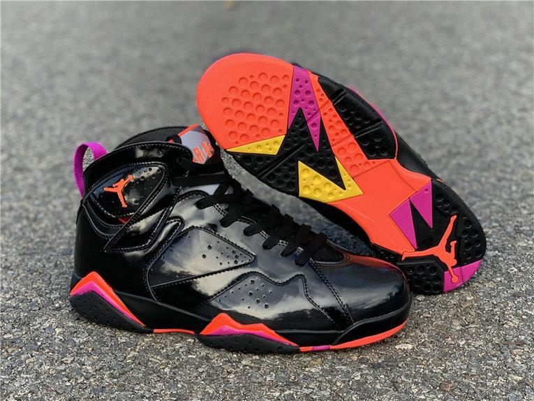 "Air Jordan 7 WMNS ""Black Patent Leather"" 313358-006"