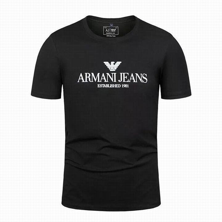Wholesale Fashion Armani Men Short Sleeve T-shirts Sale-545