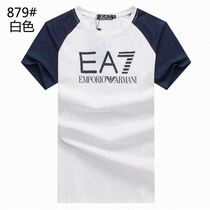 Wholesale Replica Armani Men Short Sleeve T-shirts for Cheap-525