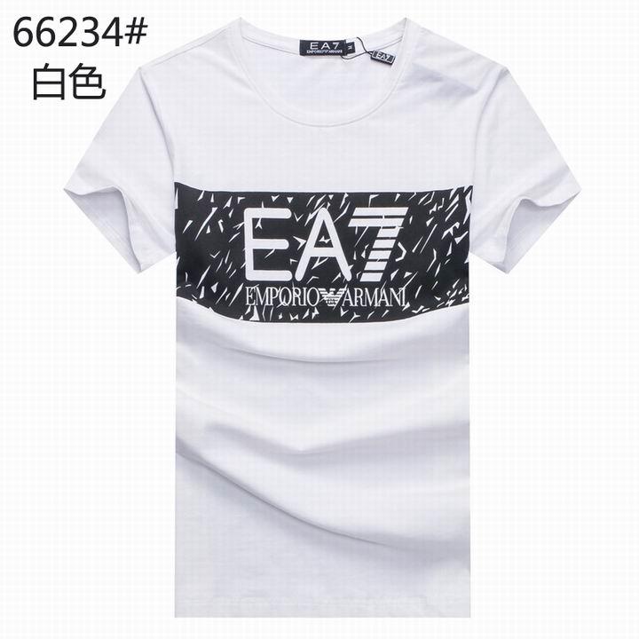 Wholesale Replica Armani Men Short Sleeve T-shirts for Cheap-530
