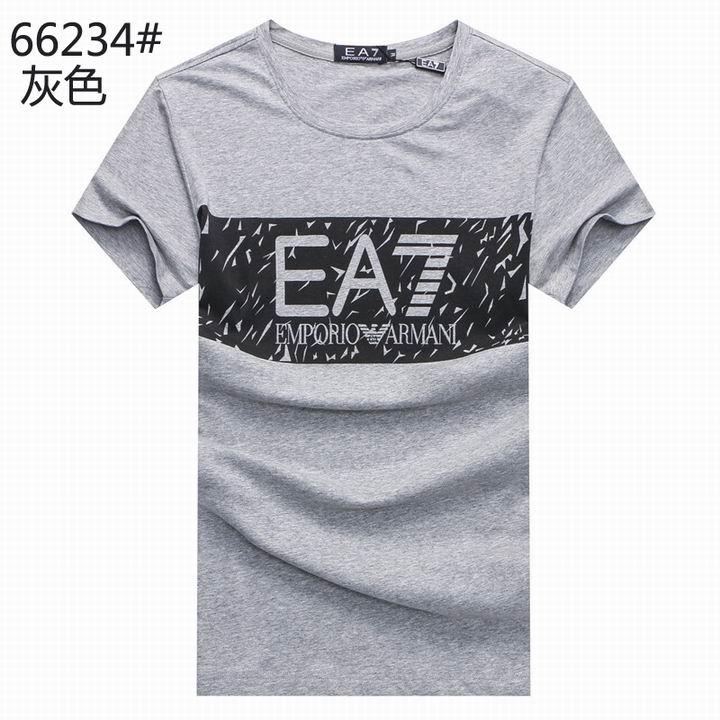 Wholesale Replica Armani Men Short Sleeve T-shirts for Cheap-532