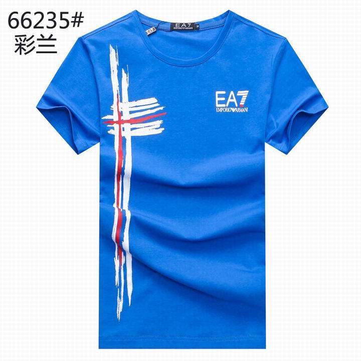 Wholesale Replica Armani Men Short Sleeve T-shirts for Cheap-535