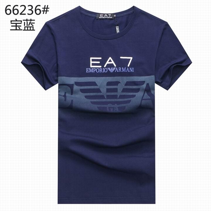 Wholesale Replica Armani Men Short Sleeve T-shirts for Cheap-537