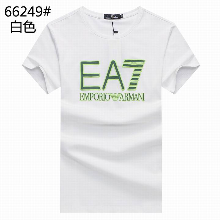 Wholesale Replica Armani Men Short Sleeve T-shirts for Cheap-542
