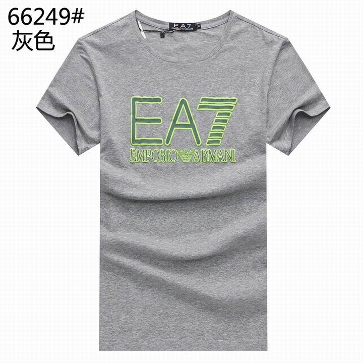 Wholesale Replica Armani Men Short Sleeve T-shirts for Cheap-544