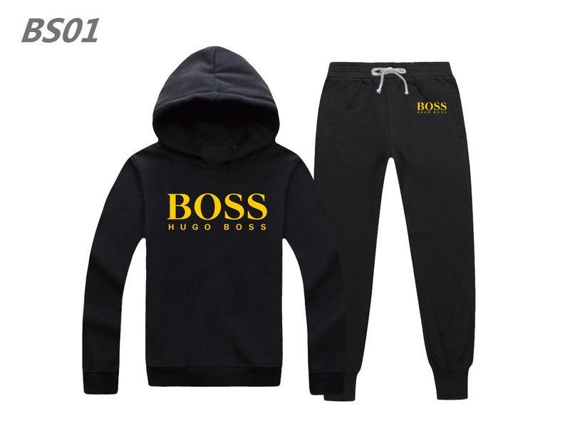 Wholesale Hugo Boss Long Sleeve Tracksuits Mens Sale-051