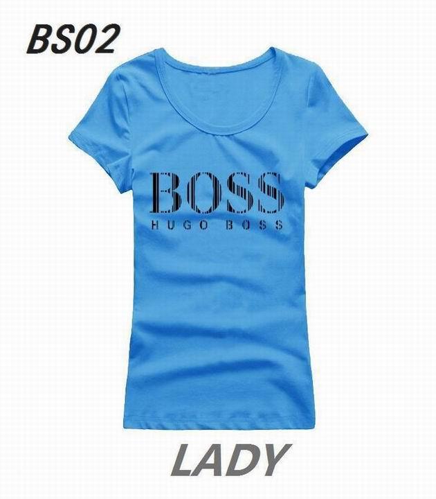 Wholesale Boss Womens Short Sleeve Round Collar T Shirt Sale-108