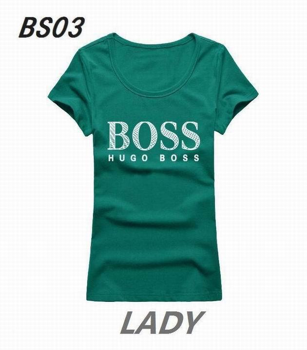 Wholesale Boss Womens Short Sleeve Round Collar T Shirt Sale-119