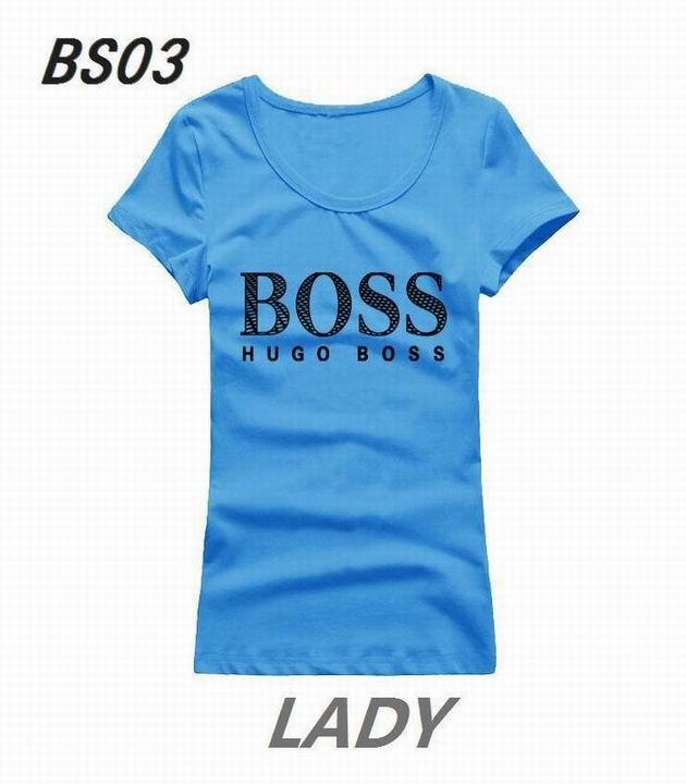 Wholesale Boss Womens Short Sleeve Round Collar T Shirt Sale-122