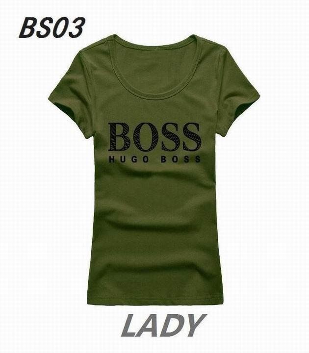 Wholesale Boss Womens Short Sleeve Round Collar T Shirt Sale-124