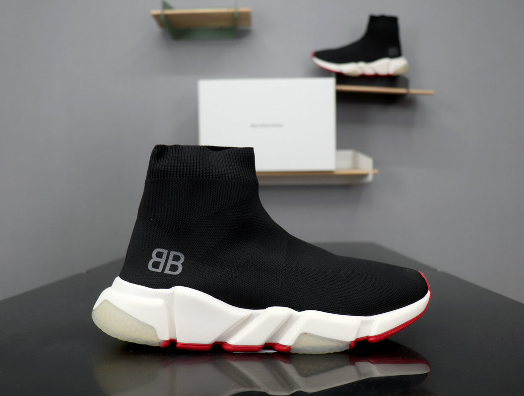 Balenciaga Speed Knit High Sneakers