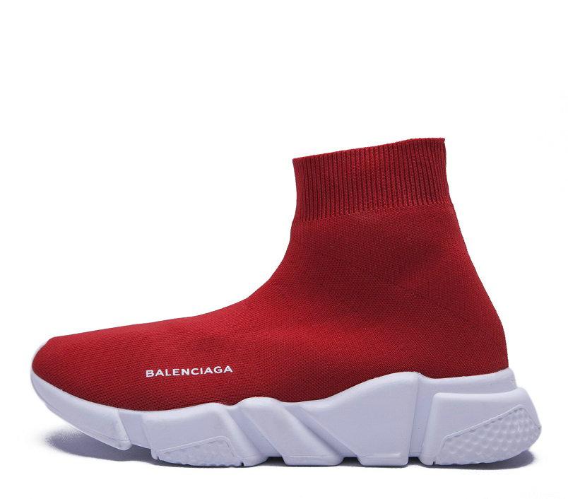Wholesale Cheap Balenciaga Stretch Mesh High Top Sneaker Sale-018