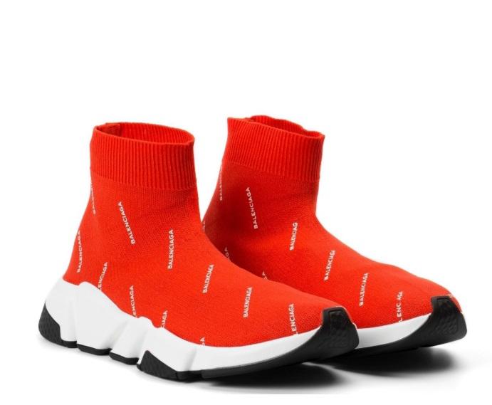 Wholesale Cheap Balenciaga Stretch Mesh High Top Sneaker Sale-021