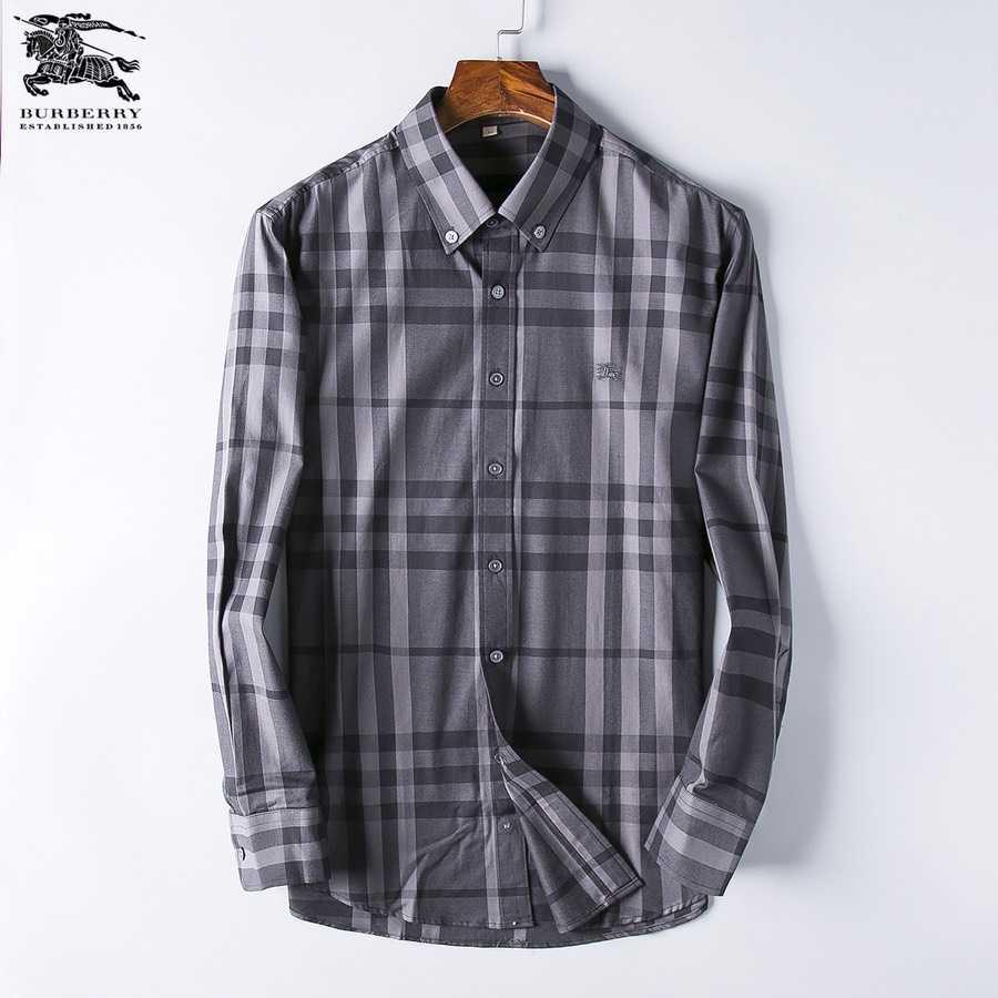 Wholesale Mens Burberry Long Sleeve Shirt