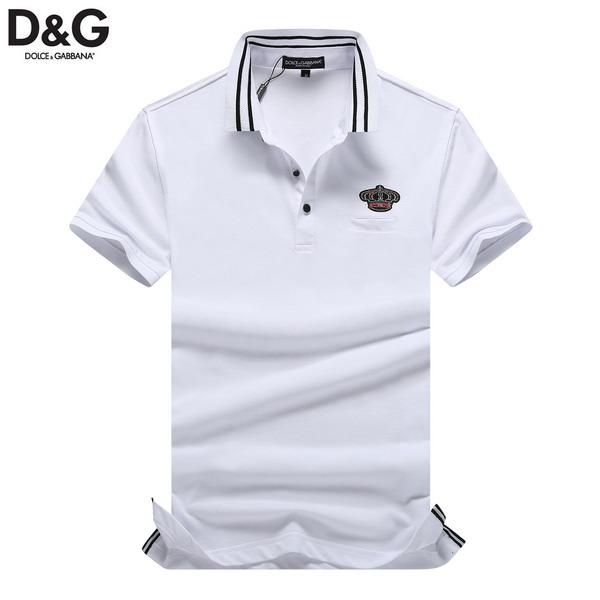 Wholesale Cheap Dolce Gabbana Short Sleeve Lapel T-Shirts for Sale