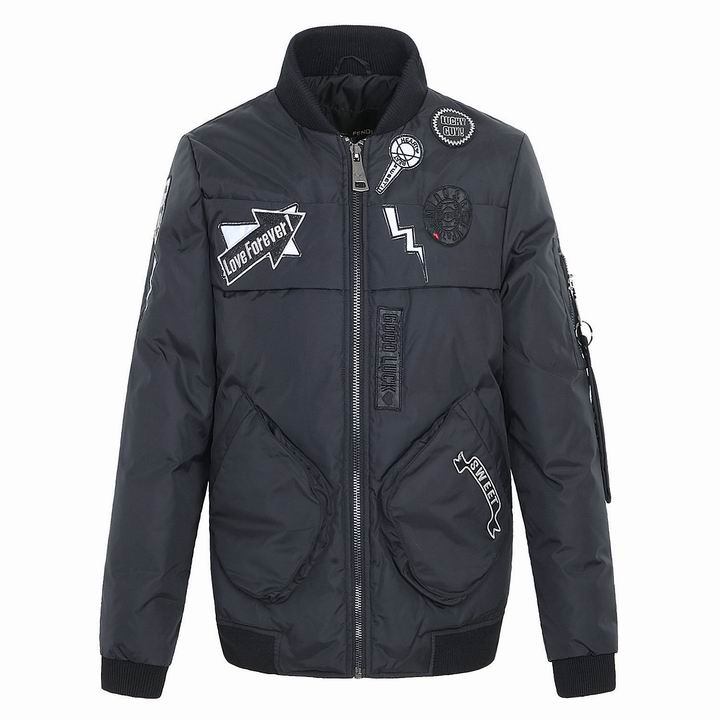 Wholesale Fendi Down Coats & Jackets for Men & Women-005