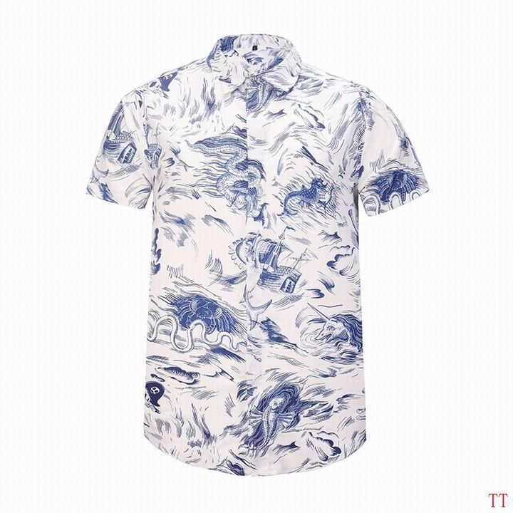 Wholesale Fashion Gucci Mens Short Sleeve Shirts-017
