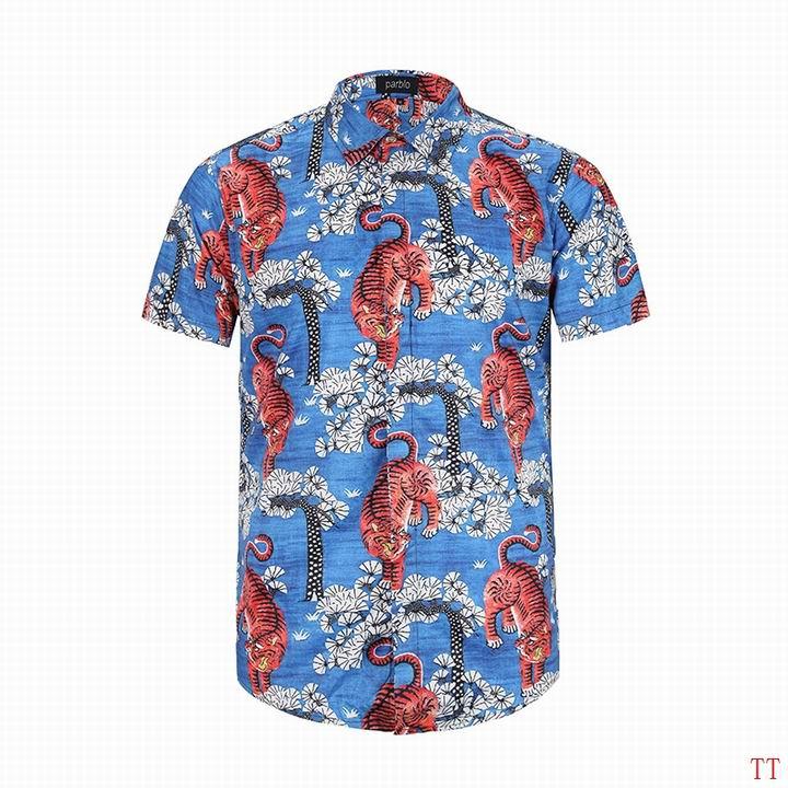 Wholesale Fashion Gucci Mens Short Sleeve Shirts-012