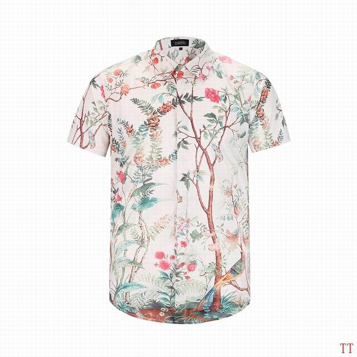 Wholesale Fashion Gucci Mens Short Sleeve Shirts-013