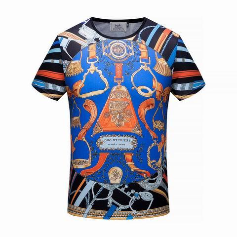 Wholesale Hermes Mens Short Sleeve T-Shirts for Sale-092