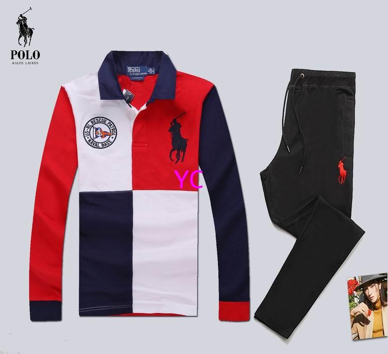 Wholesale Polo Ralph Lauren Men Long Sleeve Tracksuits for Sale