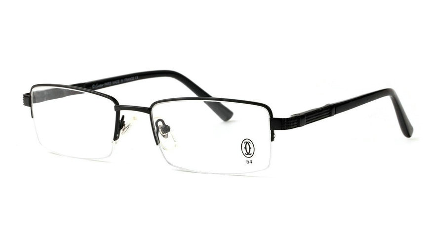 Wholesale Cheap Cartier Metal Memory Plastic Glasses Frames For Sale-020