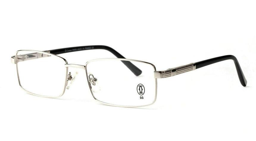 Wholesale Cheap Cartier Metal Memory Plastic Glasses Frames For Sale-024
