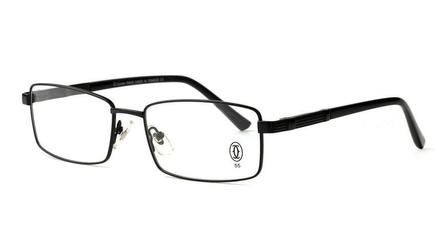 Wholesale Cheap Cartier Metal Memory Plastic Glasses Frames For Sale-025
