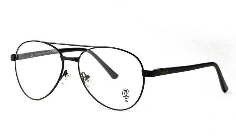 Wholesale Cheap Cartier Metal Memory Plastic Glasses Frames For Sale-026