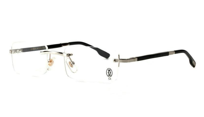 Wholesale Cheap Replica Cartier Metal Memory Plastic Glasses Frames For Sale-035