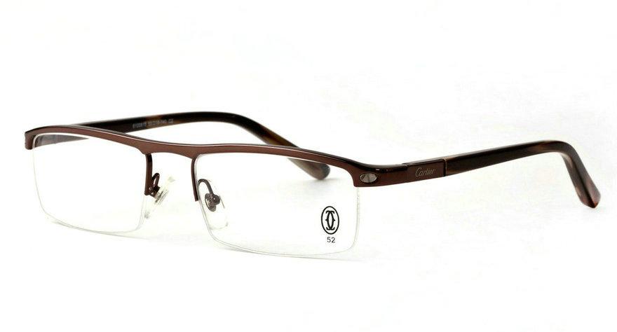 Wholesale Cheap Replica Cartier Metal Memory Plastic Glasses Frames For Sale-037
