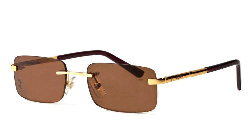 Wholesale Cheap Replica Cartier Metal Memory Plastic Glasses Frames For Sale-039