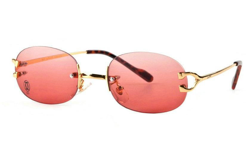 Wholesale Cheap Cartier Replica Rimless Eyeglass for Sale-032