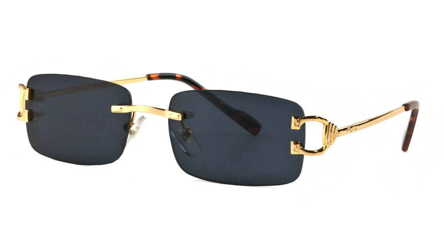 Wholesale Cheap Cartier Rimless Sunglasses Frames for Sale-041