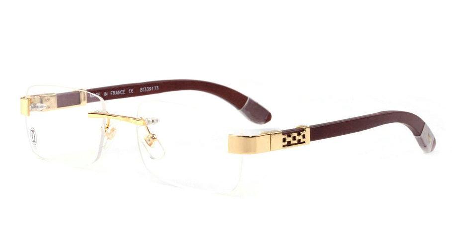 Wholesale Cheap Replica Cartier Rimless Eyeglass Frames for Sale-211