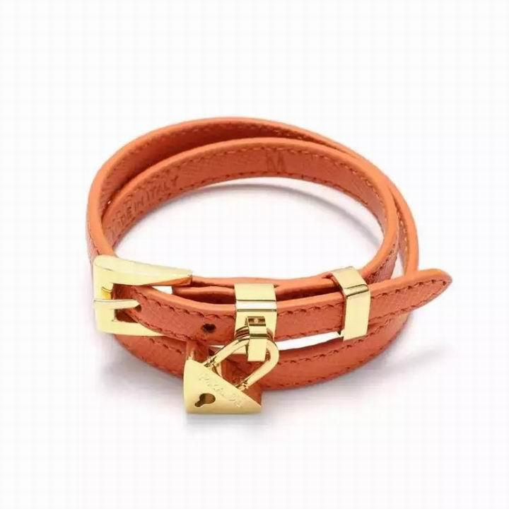 Wholesale Prada Leather Bracelet-003