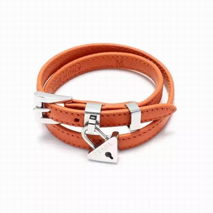 Wholesale Prada Leather Bracelet-006