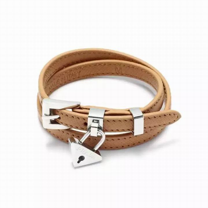 Wholesale Prada Leather Bracelet-008