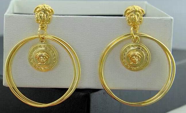 Wholesale Fashion Versace Earrings Replica-003