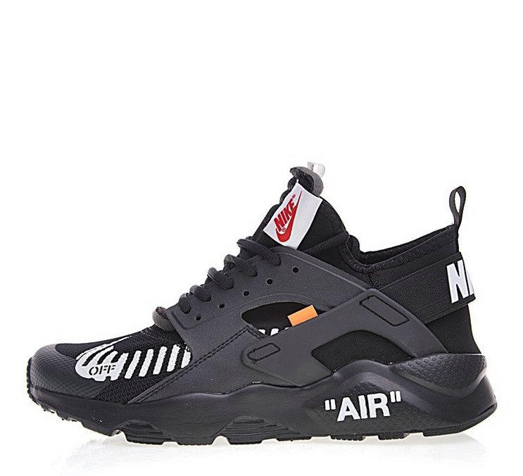 Off-White X Nike Air Huarache Ultra Black For Sale-107