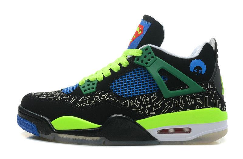 Wholesale Jordan Retro 4 Men's Basketball Shoes-018