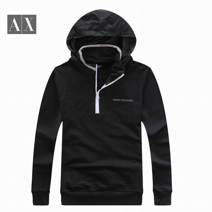 Wholesale Cheap Replica Armani Hoodies Mens Sale-005