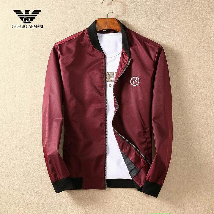 Wholesale Replica Armani Mens Jackets-034
