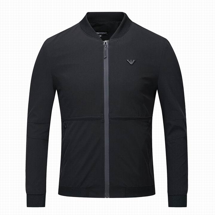 Wholesale Cheap Replica Armani Jackets Mens Sale-039