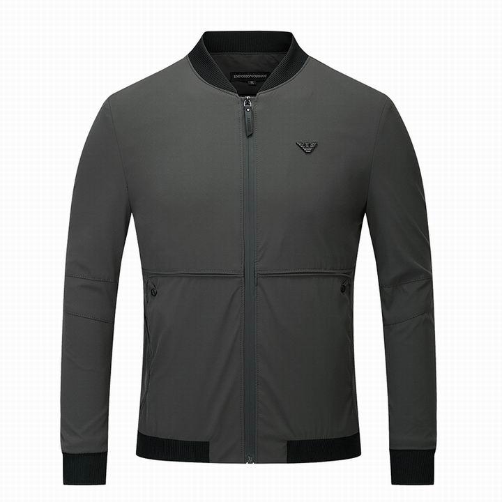 Wholesale Cheap Replica Armani Jackets Mens Sale-040