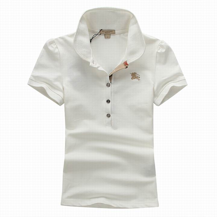 Wholesale Women's Short Sleeve Lapel T Shirt for Cheap-051