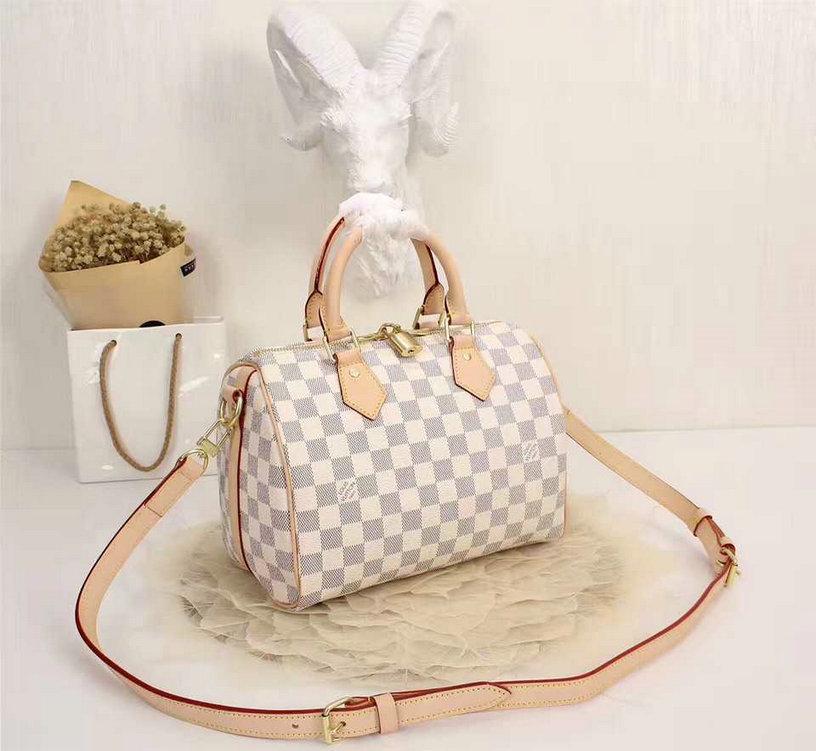 Wholesale Louis Vuitton Damier Replica Handbags-048