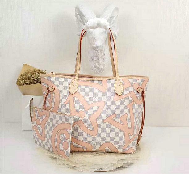 Wholesale Louis Vuitton Damier Replica Handbags-054